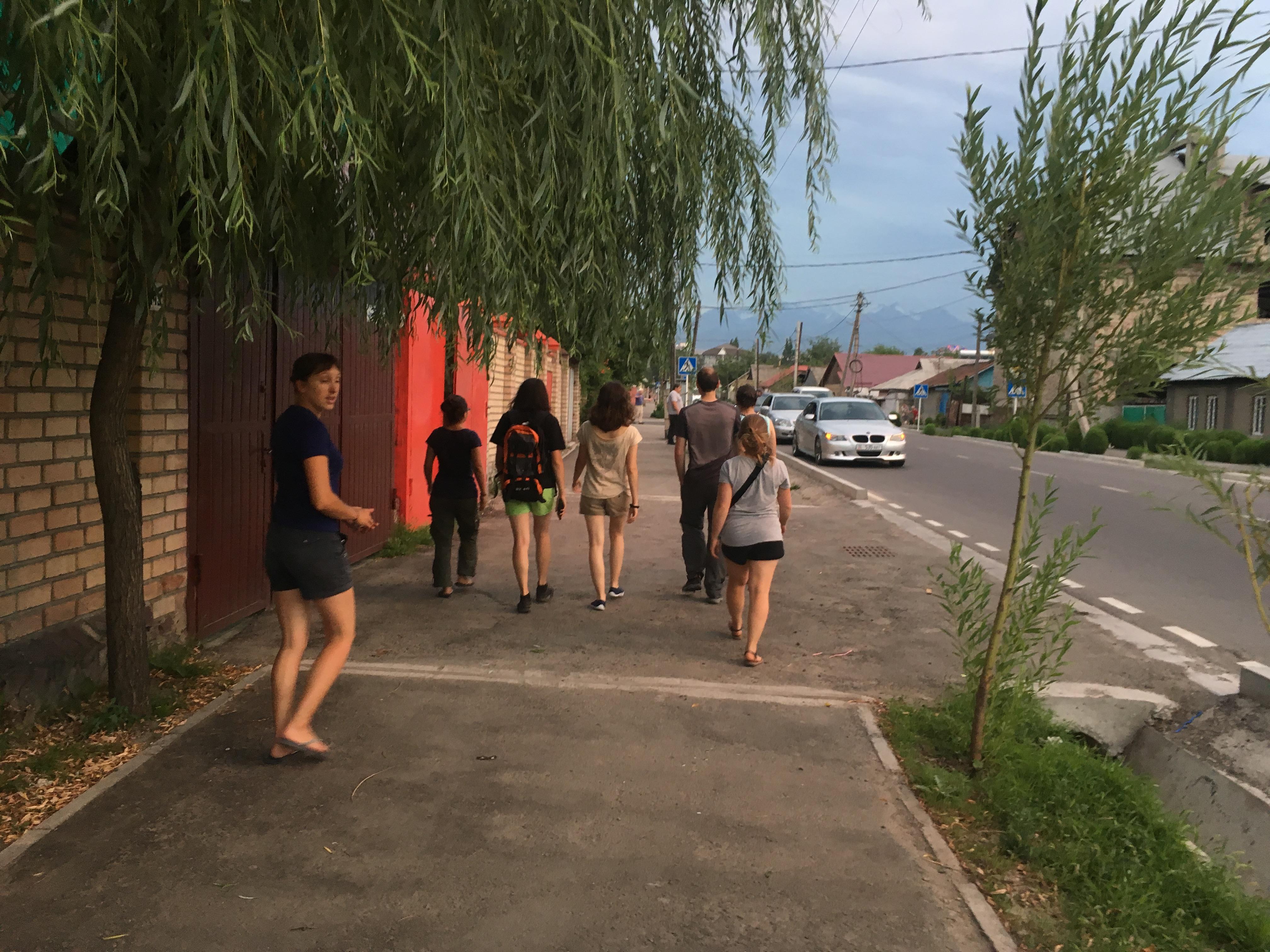 Balade dans Bishkek