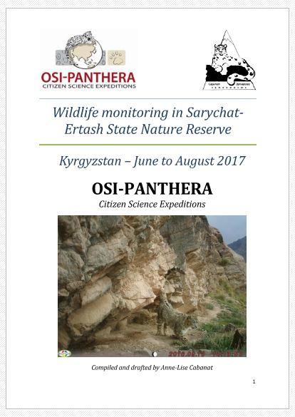 Report Sarychat-Ertash 2017