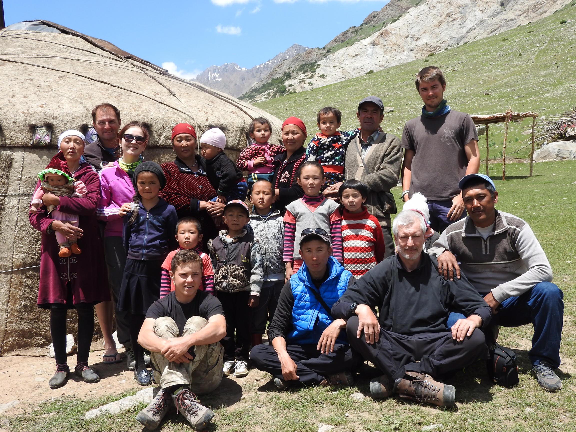 Juin 2017 dans les Pamirs Alai